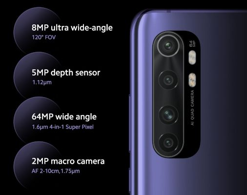 disadvantages xiaomi mi note10 lite camera