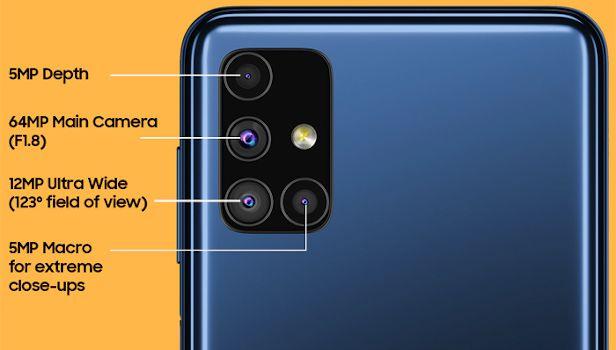 disadvantages samsung galaxy m51 camera