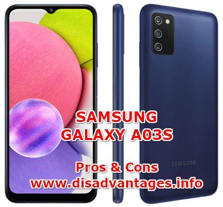 disadvantages samsung galaxy a03s