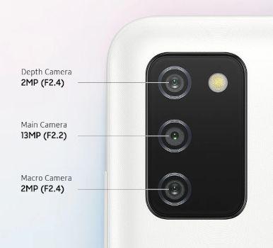disadvantages samsung galaxy a03s camera