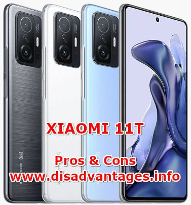 disadvantages xiaomi 11t