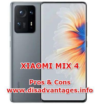 disadvantages xiaomi mix 4