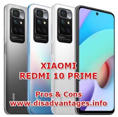 disadvantages xiaomi redmi 10 prime