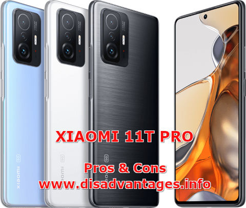 disadvantages xiaomi 11t pro